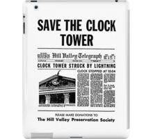 Save the Clocktower iPad Case/Skin