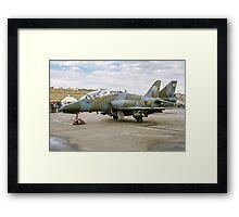 Hawker-Siddeley Hawk T.1 XX352 Framed Print