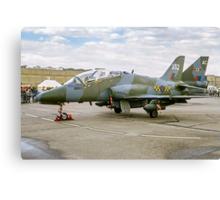 Hawker-Siddeley Hawk T.1 XX352 Canvas Print