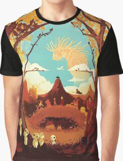 Miyazaki Hayao - Studio Ghibli - Mixed Graphic T-Shirt