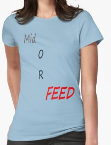 Feeders  Womens Fitted T-Shirt