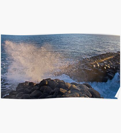 Giant Causeway Fingal NSW Poster