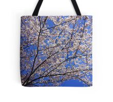 Blossoms Against the Sky ! Tote Bag