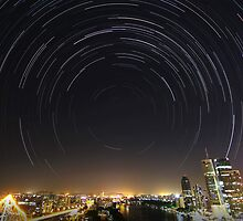 Startrail | Brisbane, Australia by NickVerburgt