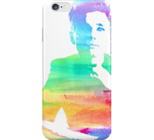 rainbow chris iPhone Case/Skin
