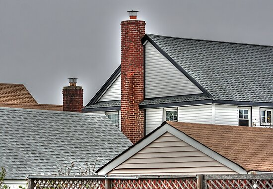 Roofs and Chimneys - HDR Version by henuly1