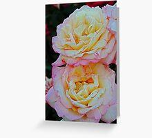 Peaches 'n' Cream Greeting Card