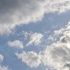 Blue Sky, Sun, Clouds by JMG1883