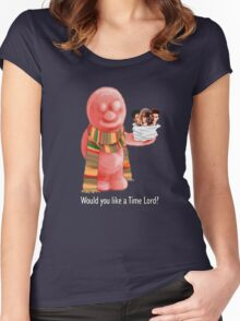 Would You Like A Time Lord? Women's Fitted Scoop T-Shirt