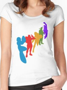 Classic 5 Women's Fitted Scoop T-Shirt