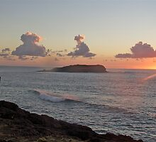 Sunrise Fingal Head by sarcalder