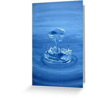 Wet Gemini Greeting Card
