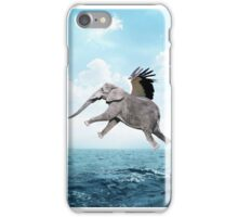 Flying Elephant iPhone Case/Skin