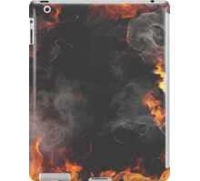 Smoky flames iPad Case/Skin