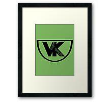 Voight Kampff - Offworld Colonies  Framed Print