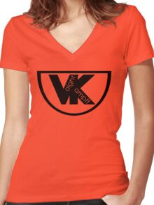 Voight Kampff - Offworld Colonies  Women's Fitted V-Neck T-Shirt