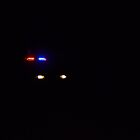 Police car at night by JMG1883