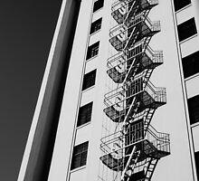 DeAnza Hotel (B&W) by AmishElectricCo