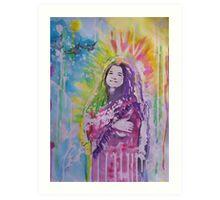 Poet Goddess Art Print