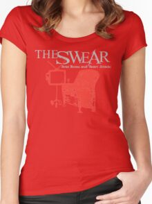 The Swear - Hotel Chair Women's Fitted Scoop T-Shirt