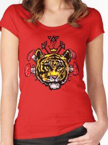king kahn Women's Fitted Scoop T-Shirt