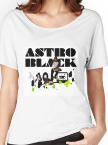 DJ Astro Black 3 Women's Relaxed Fit T-Shirt