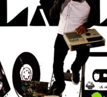 DJ Astro Black 3 Sticker