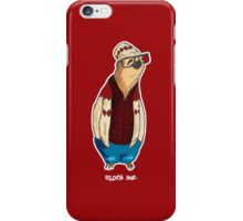 Hipster Sloth iPhone Case/Skin