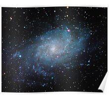 M33 - Triangulum Galaxy Poster