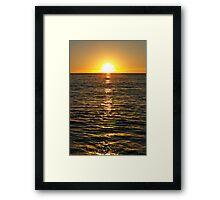 Malibu V Framed Print