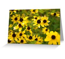 A Patch of Yellow Greeting Card