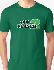 I Heart Player 2 (a) T-Shirt
