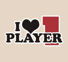 I Heart Player 1 (b) by cudatron