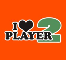 I Heart Player 2 (b) Kids Clothes
