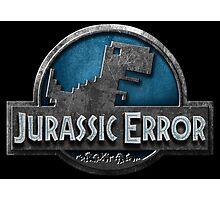 Jurassic Error Photographic Print