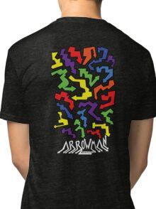 (Hoodie) Colourful Arrows Tri-blend T-Shirt