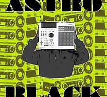 DJ ASTRO BLACK (official merchandise)  by Astro Black