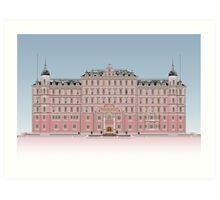 The Grand Budapest Hotel Art Print