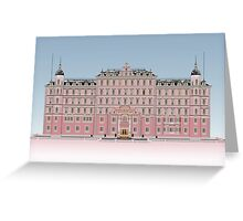 The Grand Budapest Hotel Greeting Card