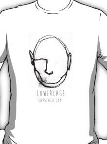 Transparent Black Logo T-Shirt