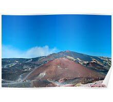 Mt Etna, Sicily Poster
