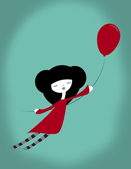 Red Balloon by volkandalyan