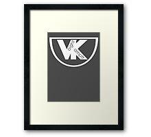 VK logo - voight kampff Framed Print