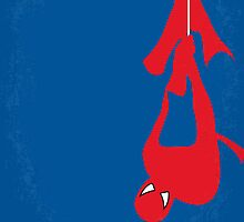 No201 My Spiderman minimal movie poster by Chungkong