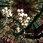 Ceiling Decor - Red and Green by tiffsho