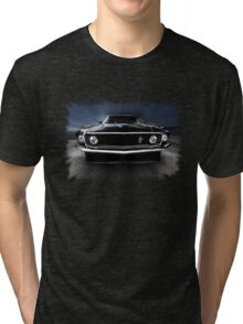 1969 FORD MUSTANG Tri-blend T-Shirt