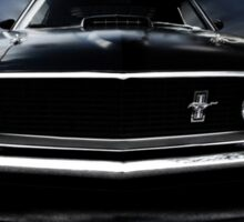 1969 FORD MUSTANG Sticker