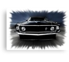1969 FORD MUSTANG Canvas Print