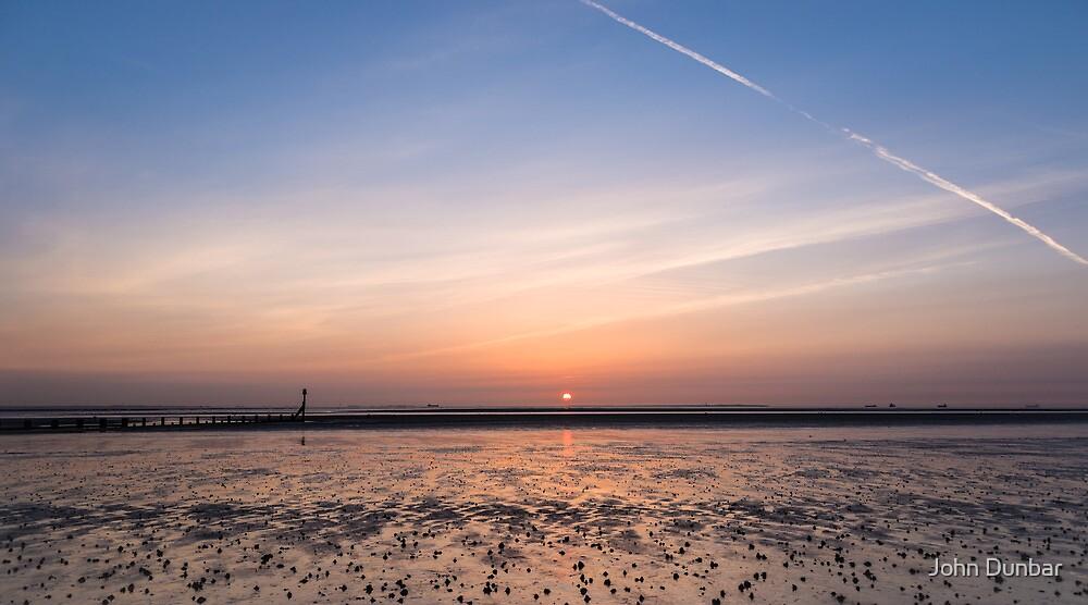 Humber Estuary Sunrise by John Dunbar
