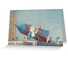 Astroland Park Retro Greeting Card